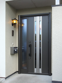 玄関ドア交換後