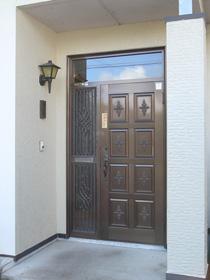 玄関ドア交換前